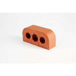 Terca Special Shaped Brick Smooth Blue Double Bullnosed Bn2.2