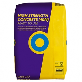 Blue Circle Ready To Use High Strength Concrete Plastic Waterproof Packaging 20kg