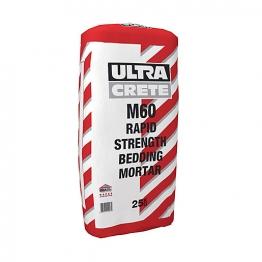 Ultracrete M60 Rapid Strength Bedding Mortar 25kg