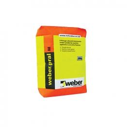 Weber.pral M Monocouche Cream 25kg
