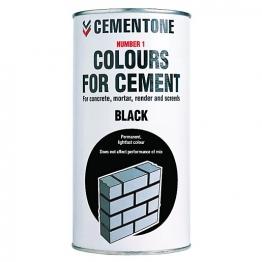 Cementone No1 Colour For Cement Black 1kg