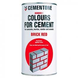 Cementone No1 Colour For Cement Brick Red 1kg