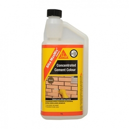 Sika Maxmix Cement Colour Brown 1l