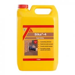 Sika 4 Rapid Setting Liquid Admixture 5l
