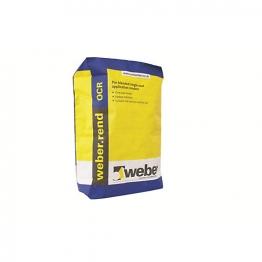Weber.rend One Coat Render (ocr) Grade 1 25kg Ocr1/25