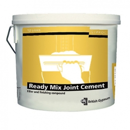 British Gypsum Gyproc Readymix Joint Cement 12l