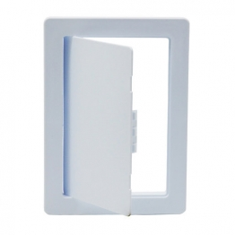 Tradeline Plastic Picture Frame Access Panel (primer White) 150mm X 225mm