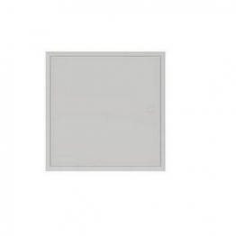 Tradeline Picture Frame Lock Access Panel (gloss White) 300mm X 300mm
