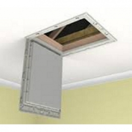 Manthorpe Drop Down Loft Access Door Insulated 150mm Pu Gl250-015-pu