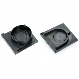 Clark-drain New Style Plastic Channel End Cap And Outlet Set