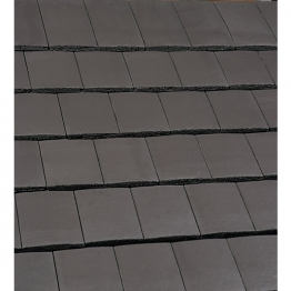 Marley Ashmore Interlocking Double Plain Tile Smooth Grey 14228