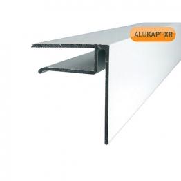 Alukap-xr End Stop Bar White 10mm X 3000mm