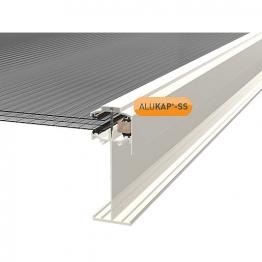Alukap-ss High Span Gable Bar 3.0m White