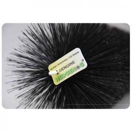 Hedgehog Gutterbrush 100mm Black 4m