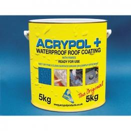 Acrypol+ Waterproof Roof Coat 5kg Black Rc3005/5