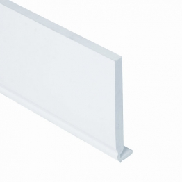 Eurocell Roofline Profile Upvc Euroboard White 18mm X 150mm X 5m