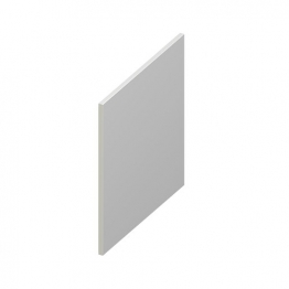 Eurocell Roofline Profile Upvc Utility Board White Ub 200 Wh 200mm X 9mm