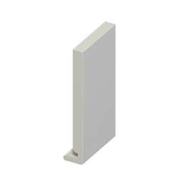 Eurocell Roofline Profile Upvc Euroboard White Eb 200 Wh 200mm X 18mm