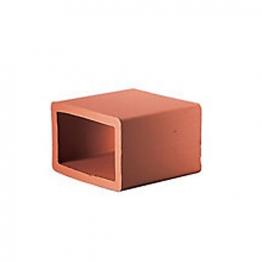 Hepworth A1 Square Bend Flue Liner 22.5deg 225 X 225mm Yh21c1