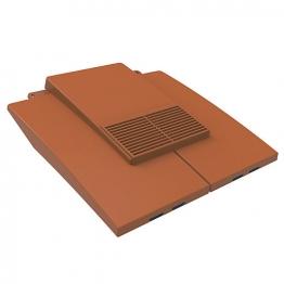 Manthorpe Plain Tile Vent Antique Red