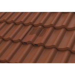 Manthorpe Double Roman Tile Vent Dark Brown Gtv-dp-br