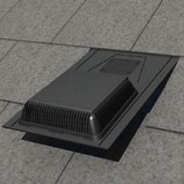 Manthorpe Ventilation Refurbishment Slate Vent 600 X 300 Black Grsv30/25r