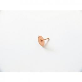 4trade Disc Rivets 3/4in Copper Pk 100
