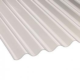 Ariel Vistalux 3in Super Weight Corrugated Pvc Sheet 1830mm X 1.3mm