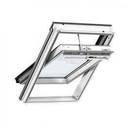 Velux Integra Solar Roof Window 550mm X 1180mm White Paint Ggl Ck06