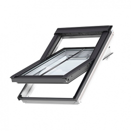 Velux Conservation Centre Pivot Roof Window And Flashing 660mm X 1180mm Ggl Fk06 Sd5w2
