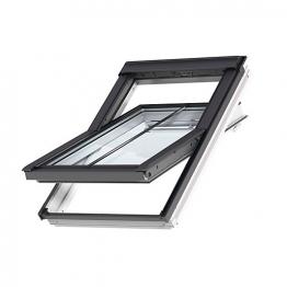 Velux Integra Roof Window 1340mm X 1400mm Pine Ggl Uk08 307021u