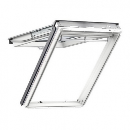 Velux Top-hung Roof Window 780mm X 980mm White Painted Gpl Mk04