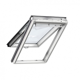 Velux Top Hung Roof Window 550mm X 1180mm White Painted Gpl Ck06