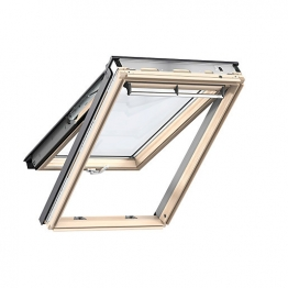 Velux Top Hung Roof Window 550mm X 980mm Pine Gpl Ck04 3070