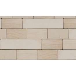 Marshalls Fairstone Sawn Caramel Cream Walling 4 Size Project Pack