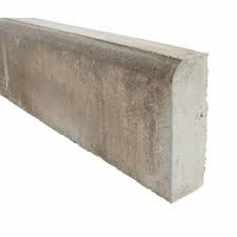 Marshalls Concrete Edging Bull Nose 50mm X 150mm X 915mm