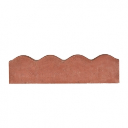 Marshalls Contour Red Edging 600mm X 150mm X 50mm