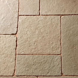 Patio Project Pack 24mm Calibrated Tuscan Limestone (18.9m
