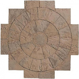 Marshalls Heritage Circle 1st Ring Section Weathered Yorkstone Active