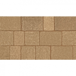 Marshalls Drivesett Tegula Harvest 120mm X 160mm X 50mm (england + Wales) Small - Pack Of 606