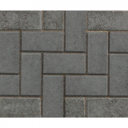 Marshalls Driveline 50 Concrete Block Paving Charcoal 200mm X 100mm X 50mm - Pack Of 488