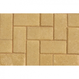 Marshalls Driveline 50 Concrete Block Paving Buff 200mm X 100mm X 50mm - Pack Of 488