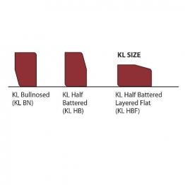 Marshalls Keykerb Large Kl Brindle 200mm X 100mm X 127mm - Pack Of 252
