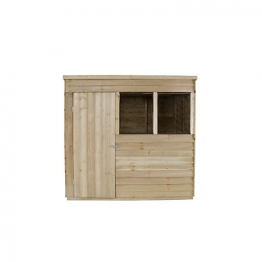 Overlap Pressure Treated Pent Shed 2137mm X 1524mm
