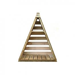 Pinnacle Log Store Pressure Treated