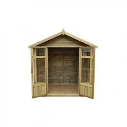 Tetbury Summerhouse Overlap Apex Pressure Treated 2133mm X 1524mm