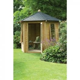 Henley Summerhouse Natural Timber