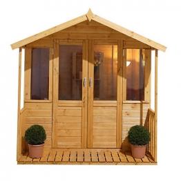 Maplehurst Summerhouse Natural Timber 2133mm X 2133mm