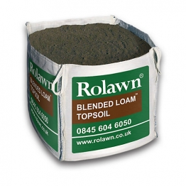 Rolawn Blended Loam Top Soil Bulk Bag 1m3