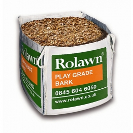 Rolawn Play Grade Bark Bulk Bag 1m